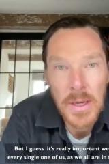 胡子比头发多?本尼录视频呼吁抗疫新造型吸睛