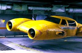 男子拥有一辆飞行汽车,速度比飞机还要快,一部搞笑科幻片