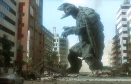 怪兽入侵城市,却被一只身高60米的巨龟打败,一部科幻动作电影