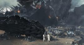 人类飞船坠毁蛮荒星球,发现植物全有辐射,只好以怪物为食