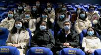 重慶援鄂醫療隊隊員參與《武漢日夜》肖戰公益觀影專場