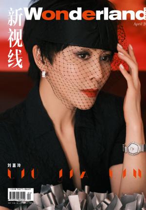 刘嘉玲黑纱面罩大片 气场全开演绎黑红经典搭配