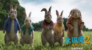 《比得兔2》热映 比得化身联合国粮食小卫士