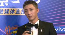 黄景瑜接受电影频道专访 分享饰演军人和警察不同感受