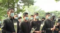 社会各界接力庆祝国庆节 《长津湖》主创赴抗美援朝烈士陵园