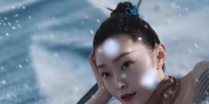宋轶飞雪茶韵大片曝光 国风造型诠释古典韵味之美